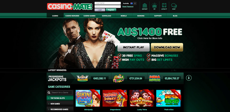 CasinoMate Review