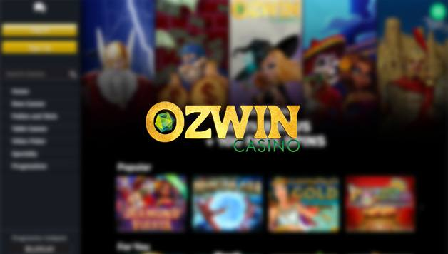 Casino Ozwin login to lobby
