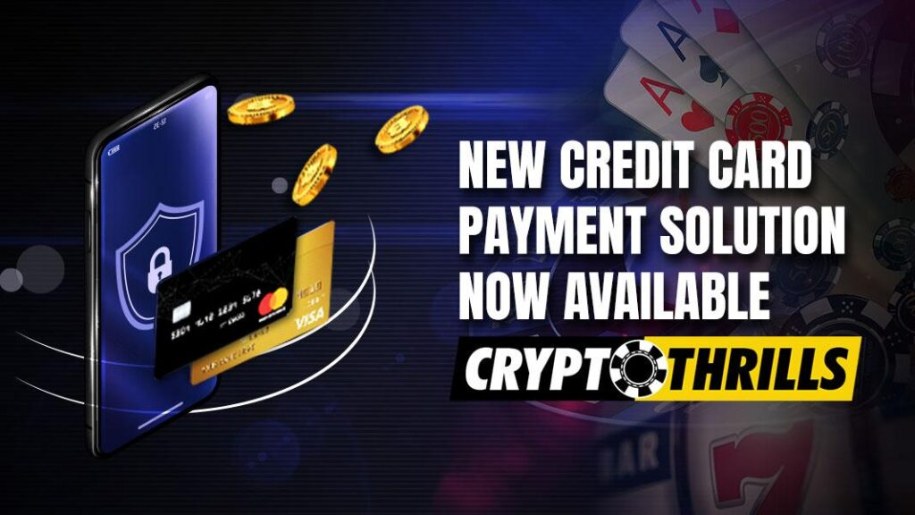 Credit Card Payment at Cryptothrills Casino