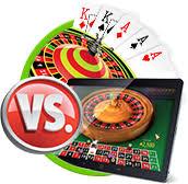 Online casino vs land based casinos Australia