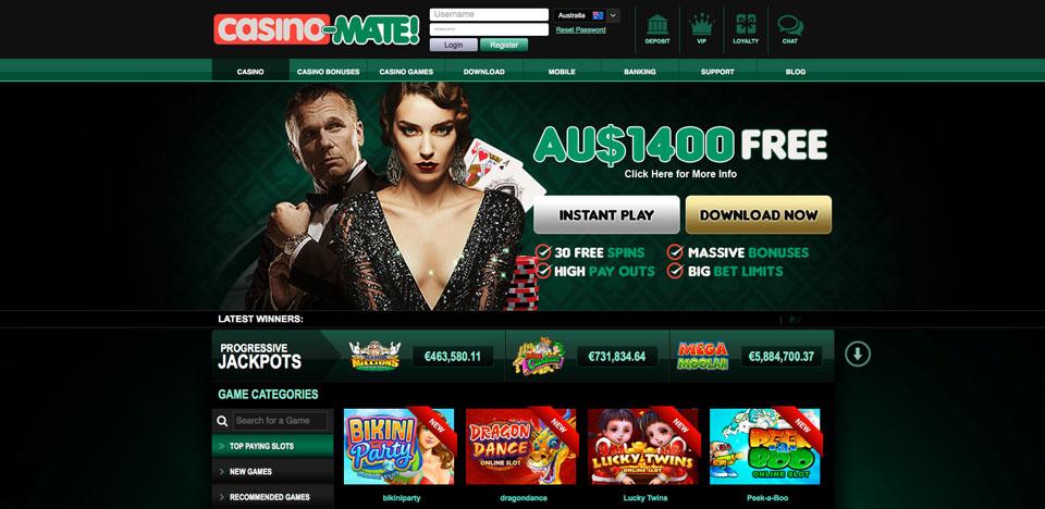CasinoMate Review