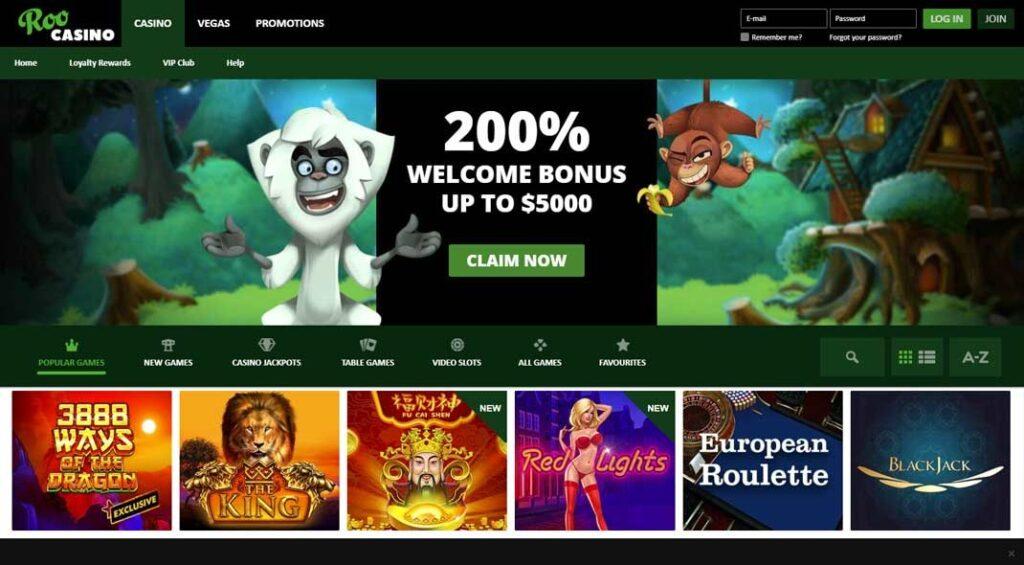 Roo Casino Online Play